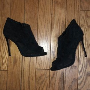 """Betsey Johnson 5"""" lace booties"""